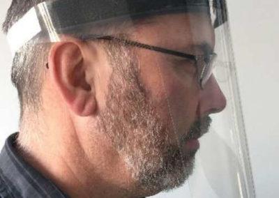 Flyer Gesichtsschutz